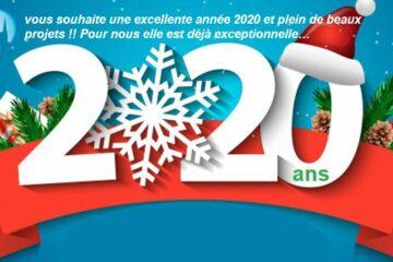 Très belle année 2020 !!