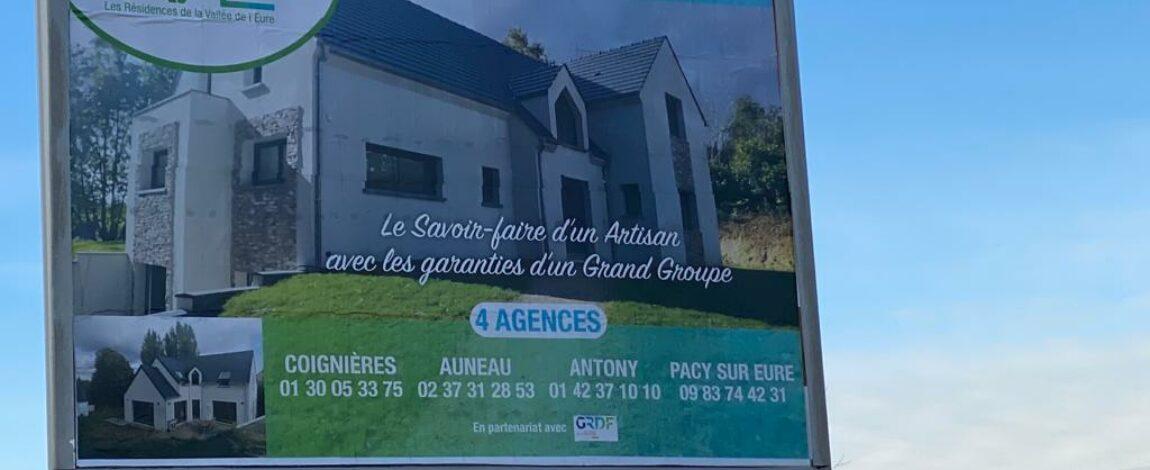 Nos 4 agences de Maisons RVE se font remarquer 😃 Coignières, Auneau, Antony et Pacy/Eure.