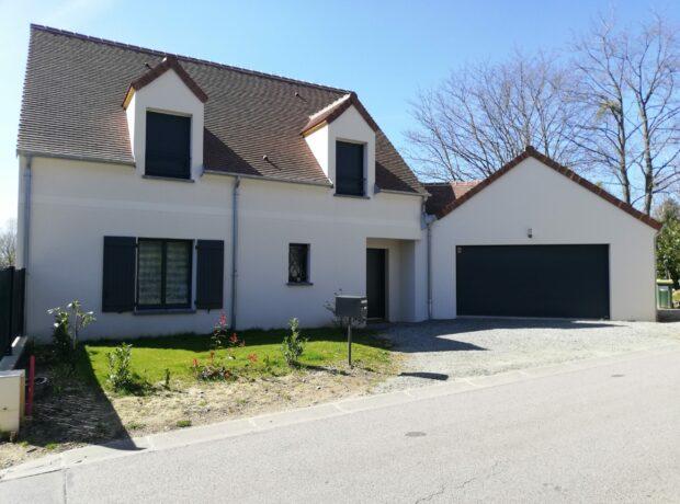 Modèle Maisons RVE avec garage accolé