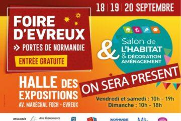 Salon de l'HABITAT & D'ÉCORATION AMÉNAGEMENT D'Évreux